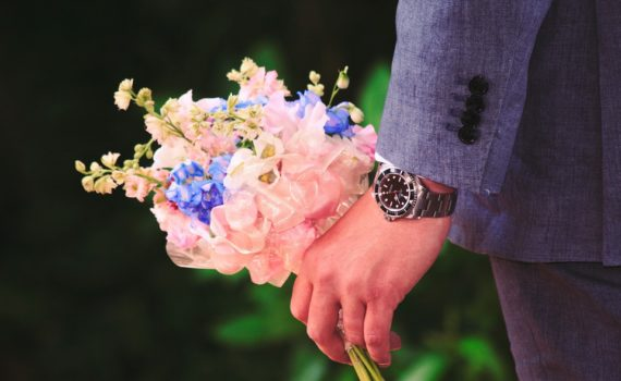 fiori per uomo