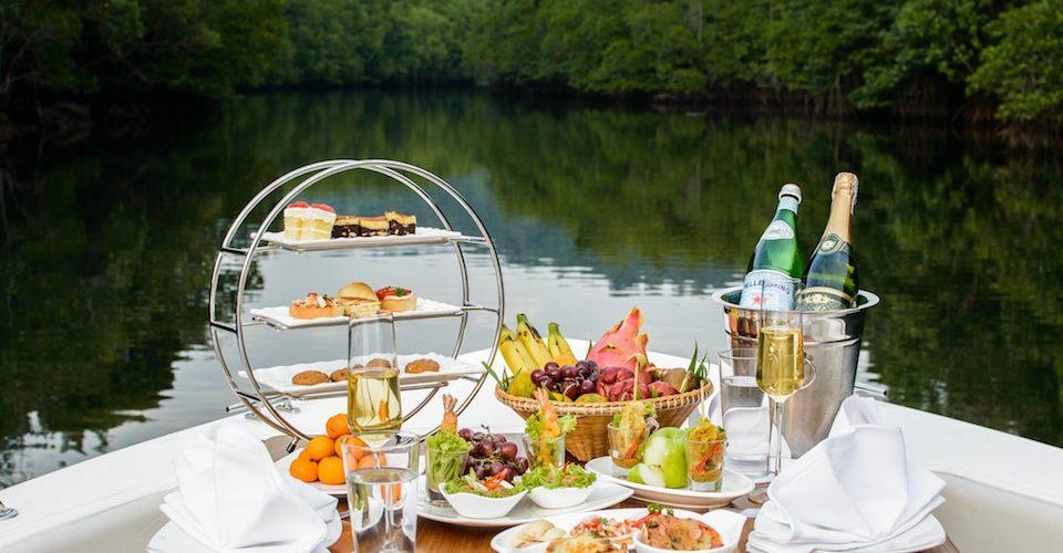 cosa si mangia in barca a vela